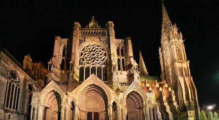 Chartres Cathedral, largest gothic cathedral