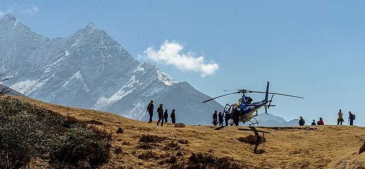 Everest Base Camp, helicopter tours
