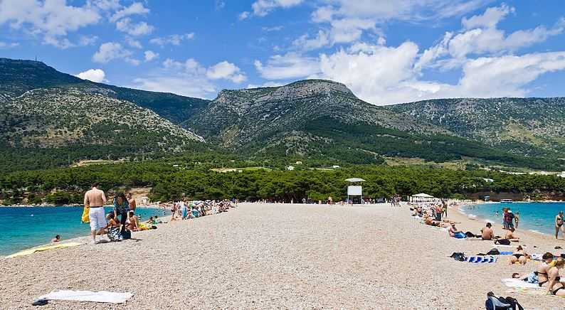zlatni-rat, Croatia beach resorts