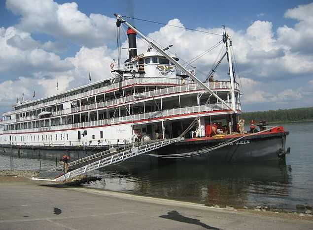 Mississippi River cruise, European river cruises