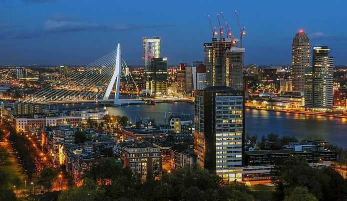 Rotterdam, tourist attractions in Netherlands