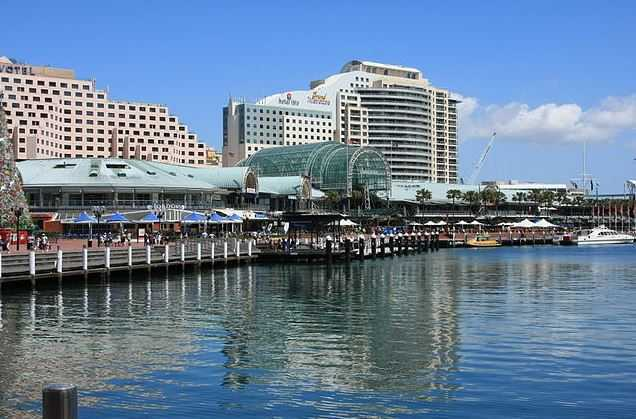 Darling Harbor, where to go in Sydney