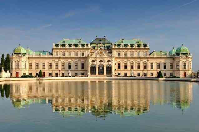 Belvedere Complex, tourist attractions in Vienna
