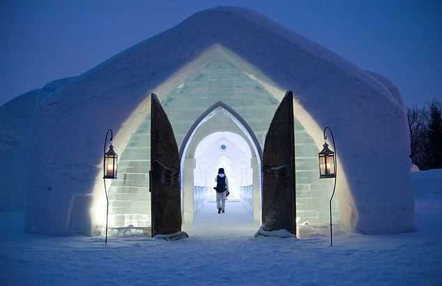 Hotel de Glace, snow resorts