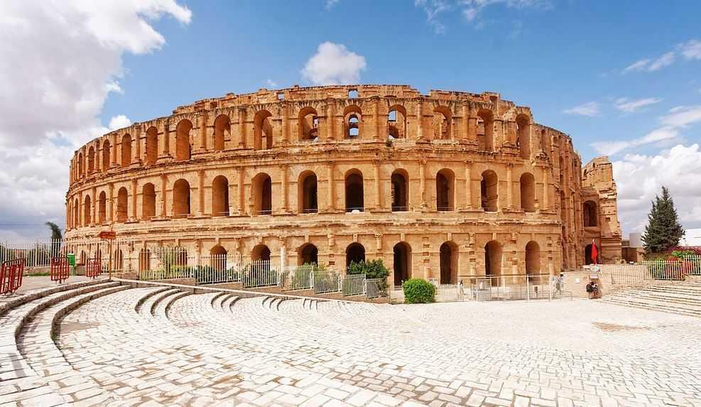Top 10 Most Famous Roman Amphitheaters, Amphitheater of El Djem