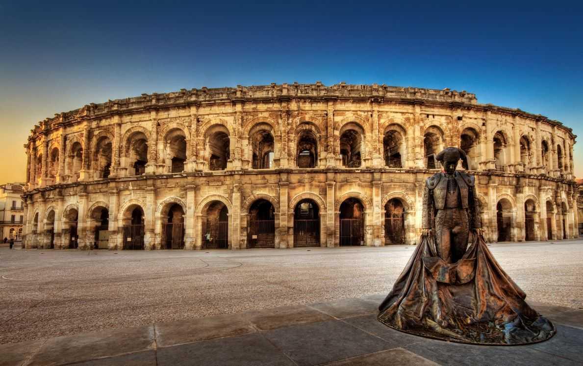 Top 10 Most Famous Roman Amphitheaters, Amphitheatre Nimes