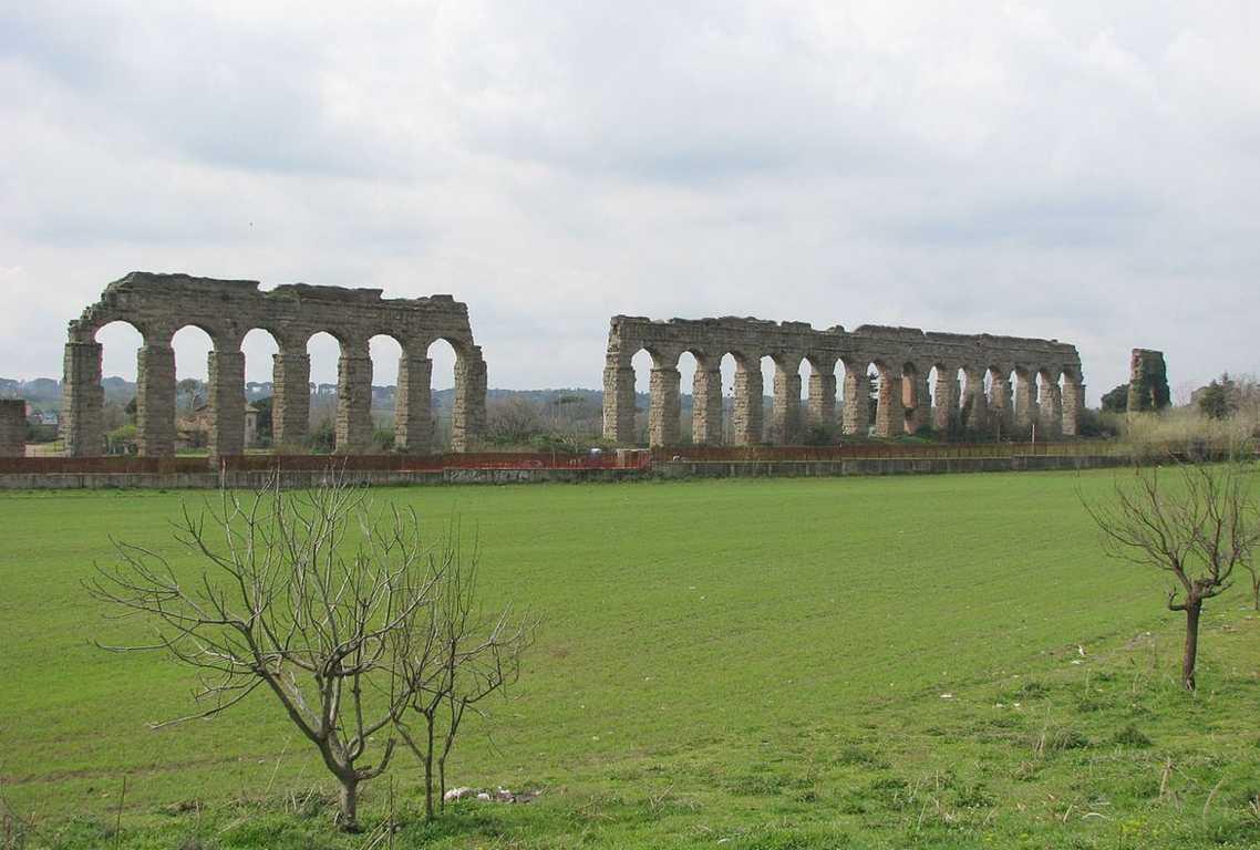 Top 10 Most Impressive Ancient Aqueducts, Aqua Claudio