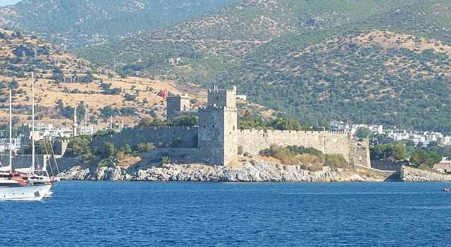 Top 10 Tourist Attractions in Turkey, Bodrum Castle