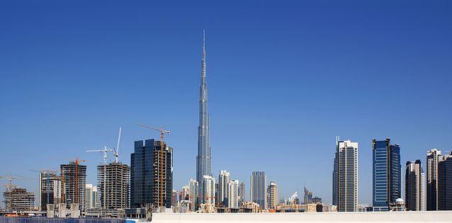 Top 10 Iconic Skyscrapers around the World, Burj Dubai