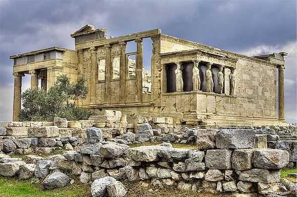 Top 10 Most Famous Greek Temples, Erechtheum