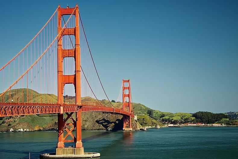 Top 10 Most Famous Bridges in the World, Golden Gate Bridge