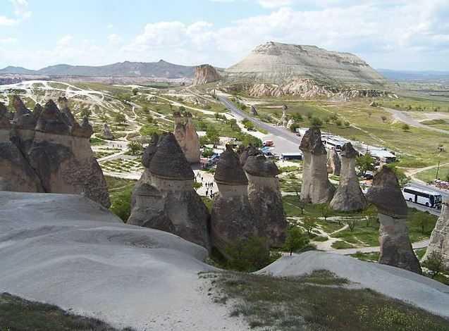 Top 10 Tourist Attractions in Turkey, Goreme Fairy Chimneys
