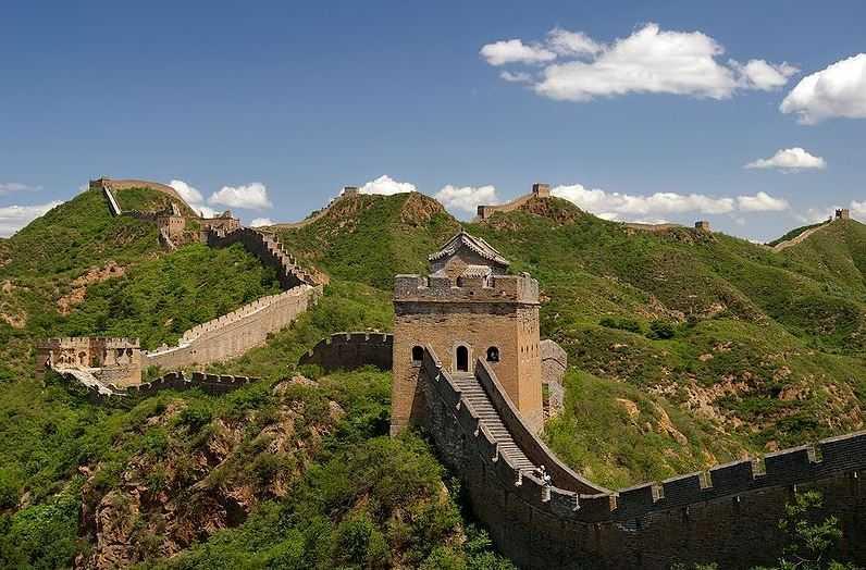 Top 10 World Famous Walls, Great Wall of China