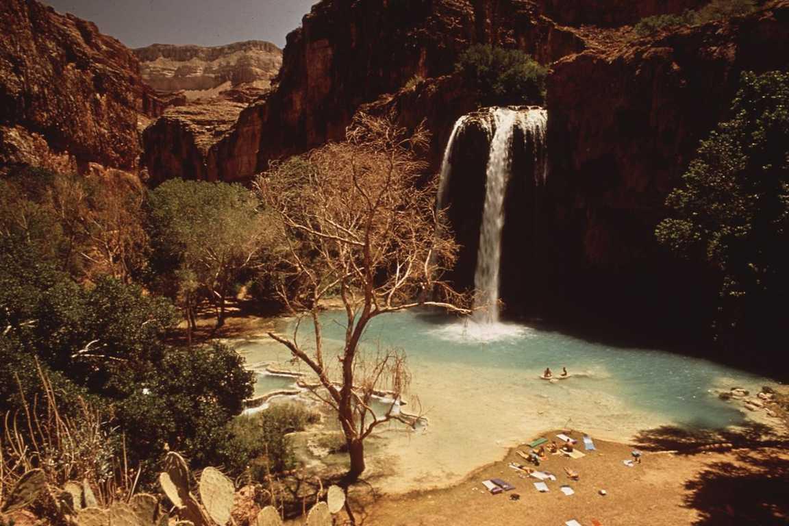 Top 10 Most Beautiful Lakes around the World, Havasu Falls
