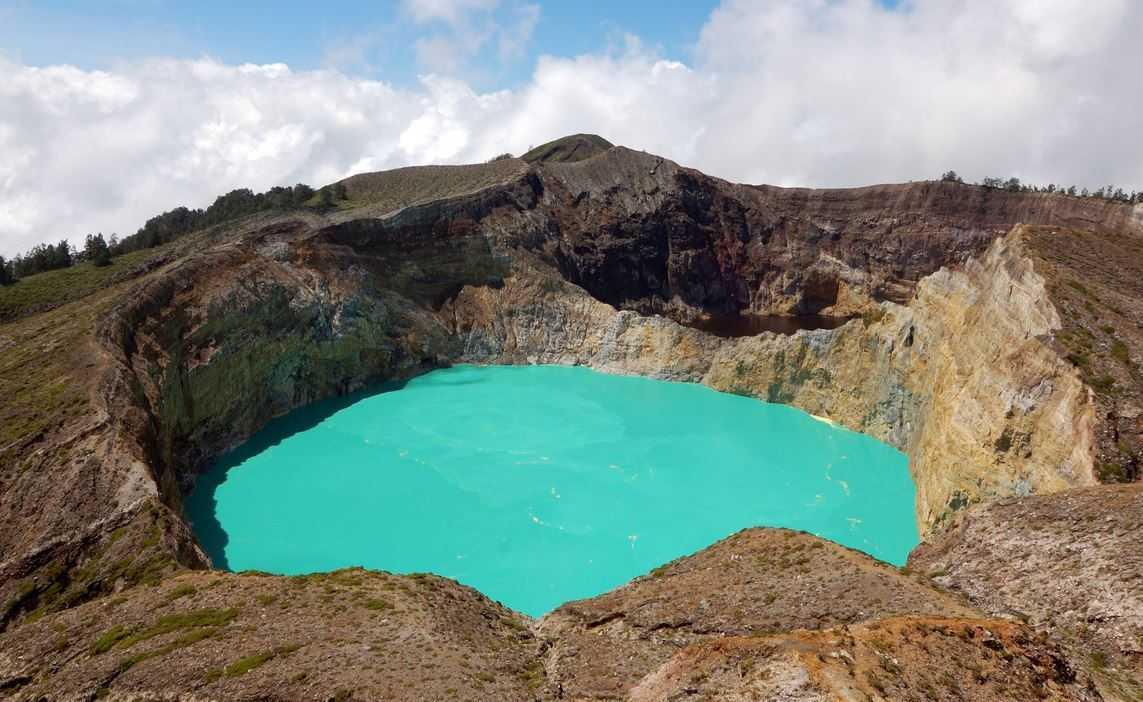Top 10 Most Beautiful Lakes around the World, Kelimutu
