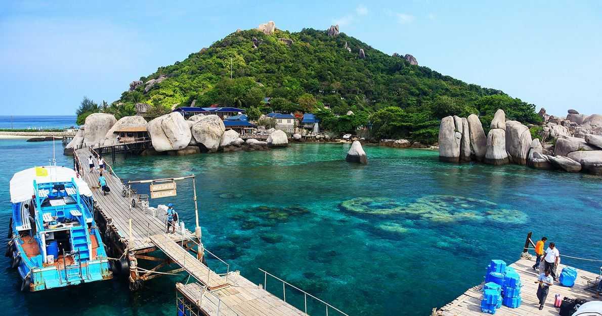 Top 10 Mysterious Tidal Islands around the world, Ko Nang Yuan