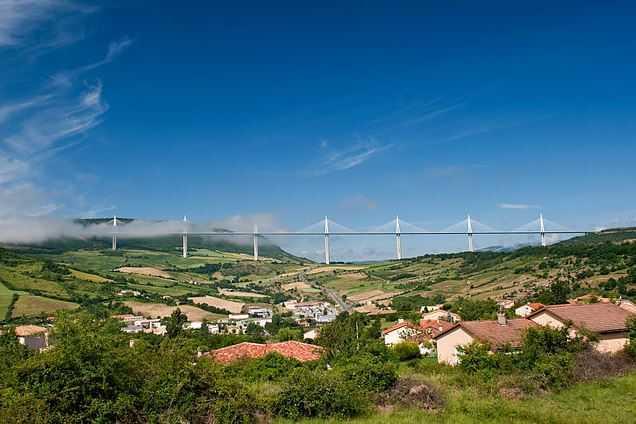 Top 10 Most Famous Bridges in the World, Millau Bridge