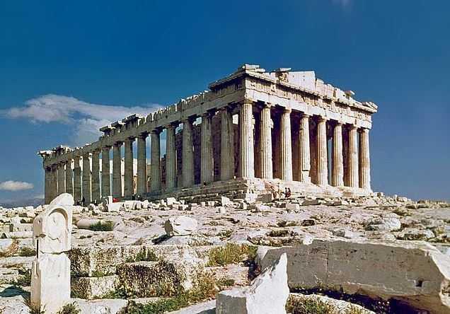 Top 10 Most Famous Greek Temples, Parthenon, Acropolis