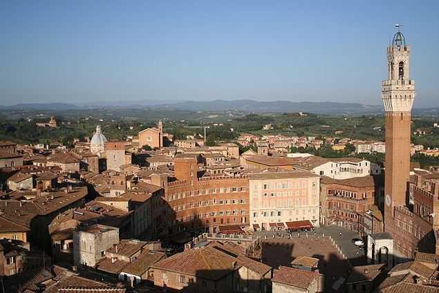 Top 10 Tourist Attractions in Italy, Piazza del Campo