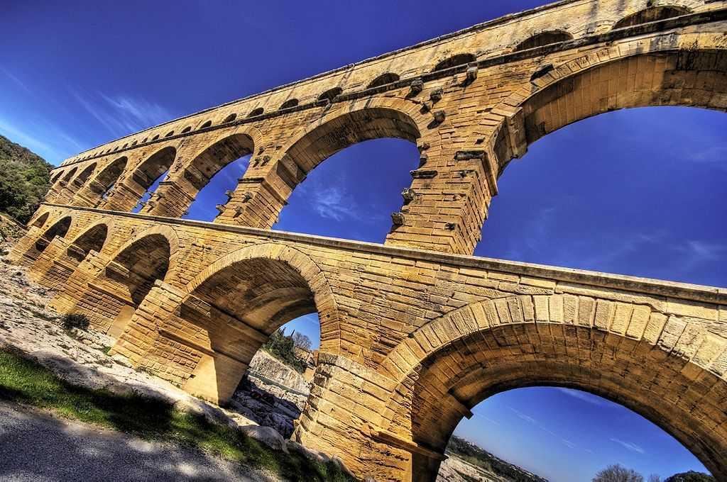 Top 10 Most Impressive Ancient Aqueducts, Pont du Gard