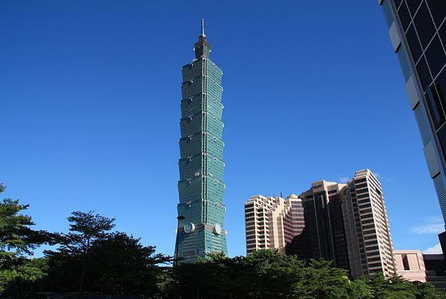 Top 10 Iconic Skyscrapers around the World, Taipei 101