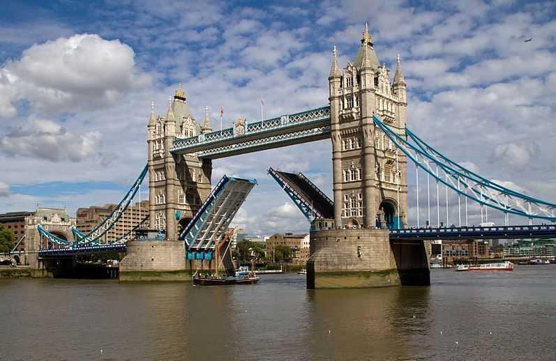 Top 10 Most Famous Bridges in the World, Tower Bridge
