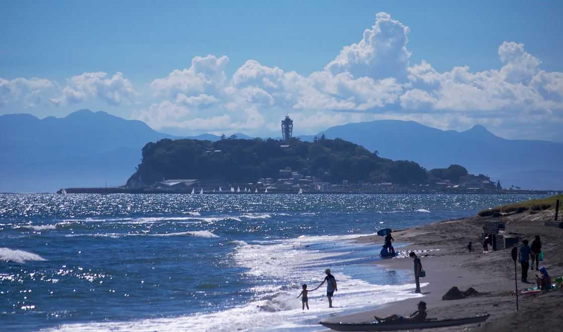Top 10 Mysterious Tidal Islands around the world, Enoshima