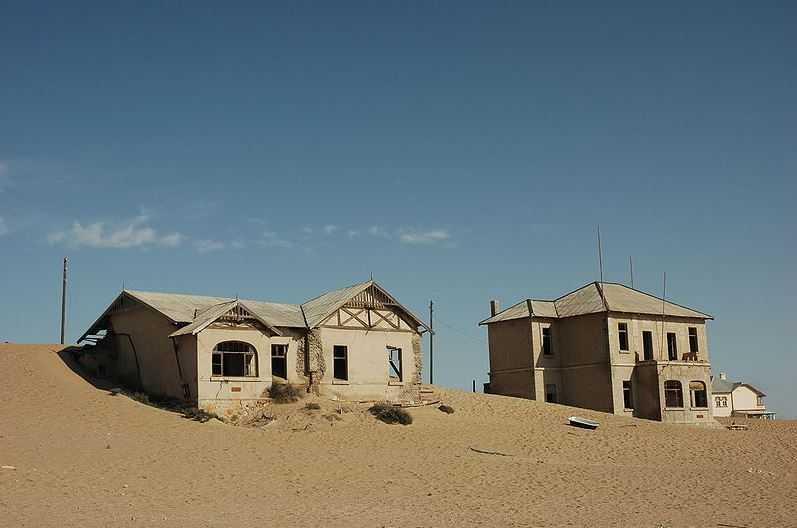 Top 10 Tourist Attractions in Namibia, Kolmanskop