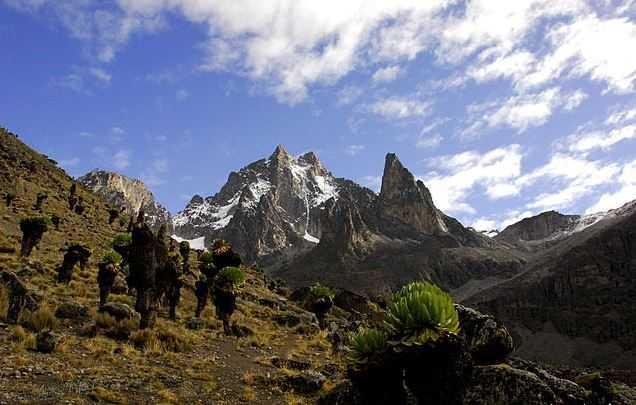 Top 10 Tourist Attractions in Kenya, Mount Kenya