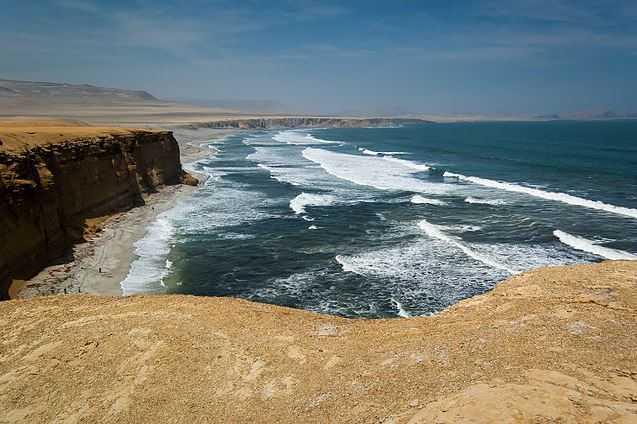 Top 10 Incredible Sea Cliffs in the World, Paracas Sea Cliffs