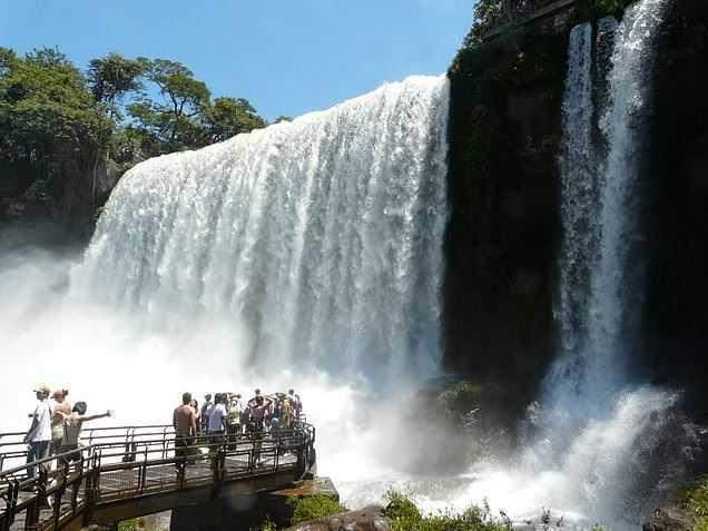 Iguaçu Falls, places in Brazil