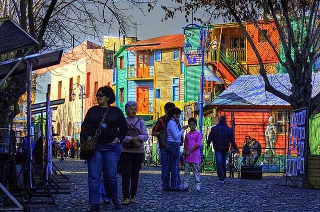 La Boca, Argentina capital