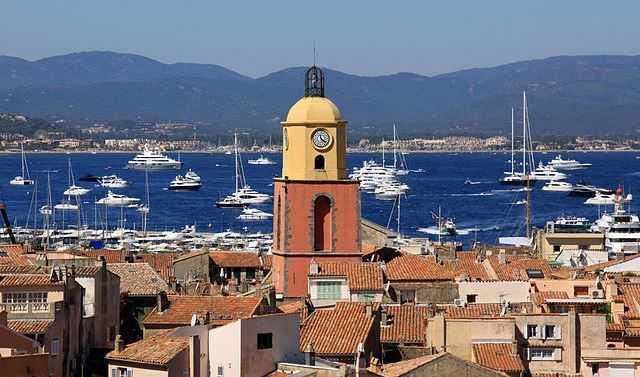 St Tropez, tourist places in France