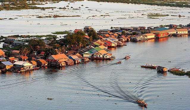 Tonle Sap, places in Cambodia