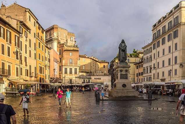 Top 10 Tourist Attractions in Rome, Campo de' Fiori