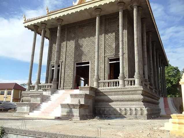 kratie cambodia, monuments in Cambodia