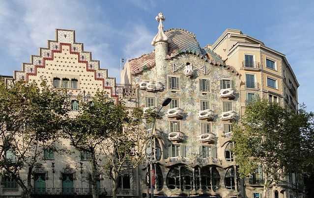 Casa Batllo, tourist attractions in Barcelona