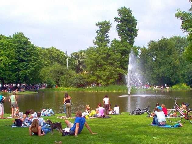 Vondelpark, places to visit in Amsterdam