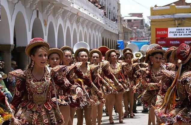 Oruro Carnival, tourist attractions in Bolivia