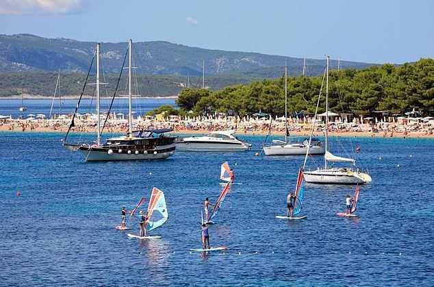 Brac, Croatia island hopping