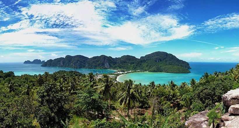 Ko Phi Phi, island hopping Thailand