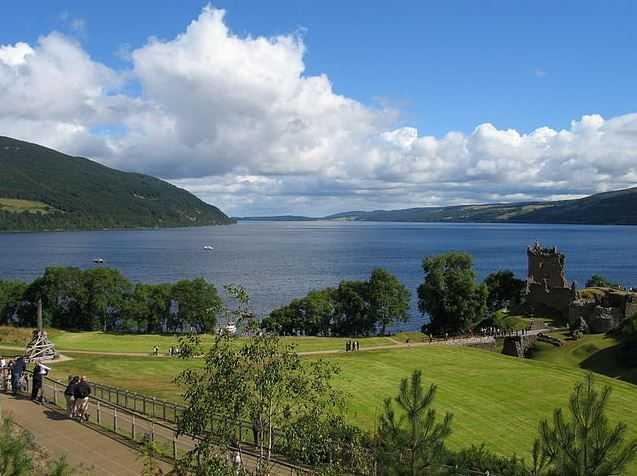 Loch Ness, tourist attractions in Scotland