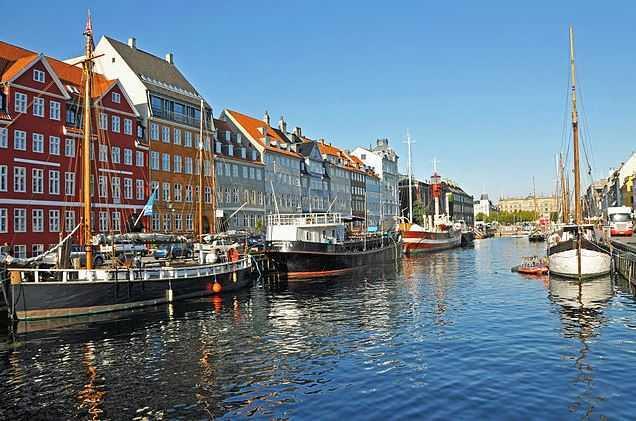 Nyhavn Harbor, hotels in Copenhagen