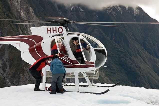 Fox Glacier, air tours