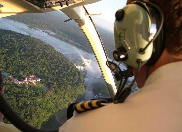 Iguazu Falls, air tours