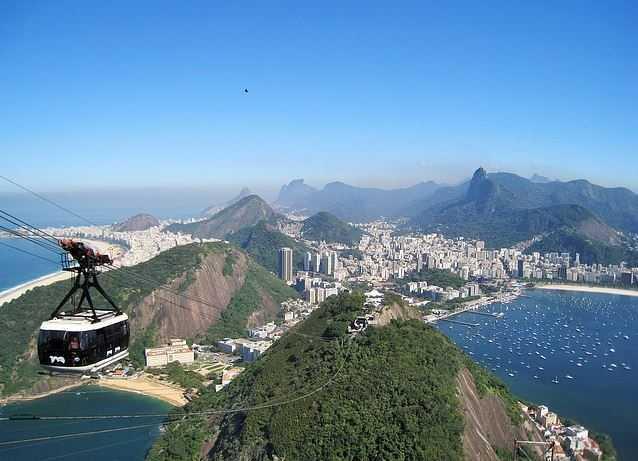 Rio de Janeiro, helicopter experience