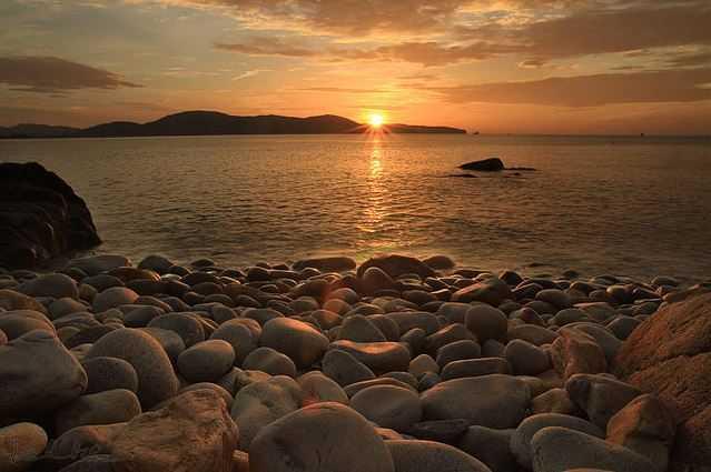 beach-sunrise, Croatia beaches
