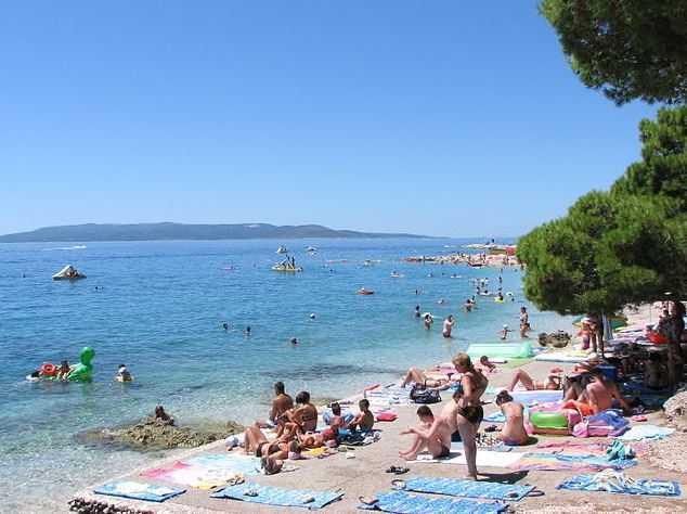 makarska-beach, Croatia beaches