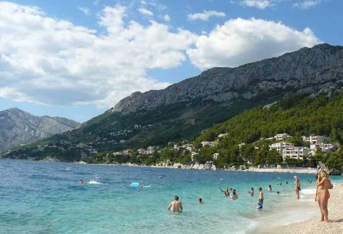 punta-rata, Croatia beaches