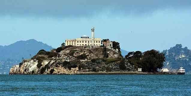 Alcatraz, most famous prison